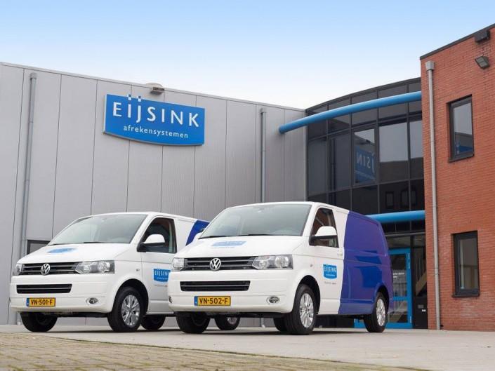 Eijsink VW TRANSPORTERS 16X BESTICKERING04